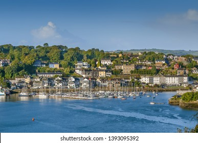 View of Kinsale from mouth of the River Bandon, Ireland