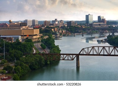 View of Knoxville, Tennessee.