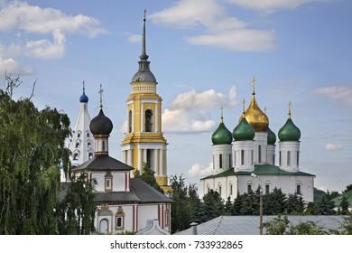 View of Kolomna Kremlin. Russia