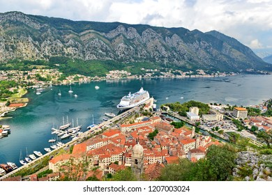 View to Kotor Bay, Montenegro