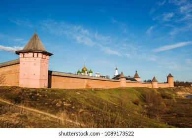 The view of Kremlin in Suzdal, Russia.