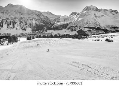 View from Kriegerhorn to Lech, Zurs, Omesberg, Valuta