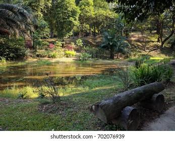 view of kuala lumpur butterfly park