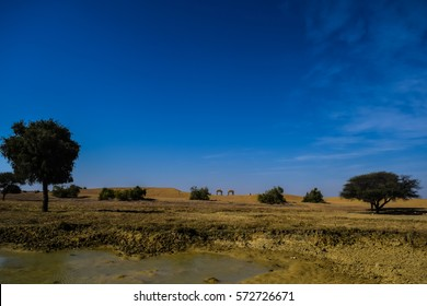 View of Kuldhara Village Jisalmer
