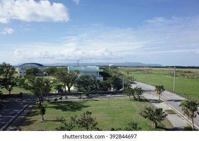 view in Kuroshima Okinawa Japan