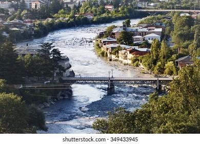view to Kutaisi Town at Georgia
