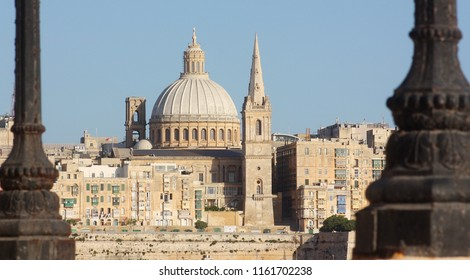 View of La Valletta from Sliema (Malta)