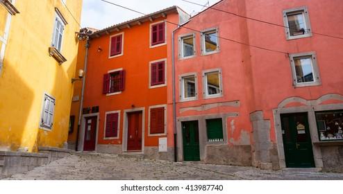 View of Labin, little town in Istria, Croatia