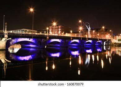View of Lagan Bridge.