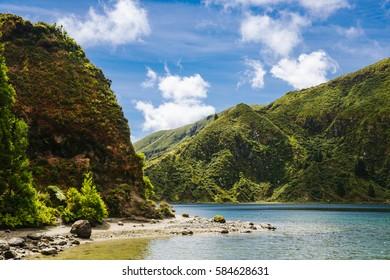 View of Lagoa do Fogo São Miguel, Açores - Azores