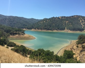 View of Lake Lake Berryessa, Napa, California