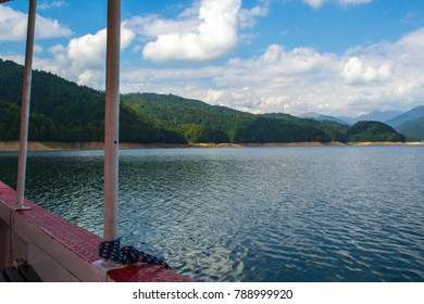View of lake from a boat