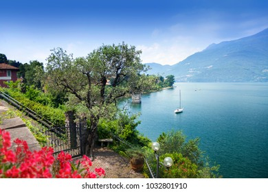 View from lake Como, Italy
