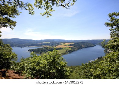 view to the lake Edersee