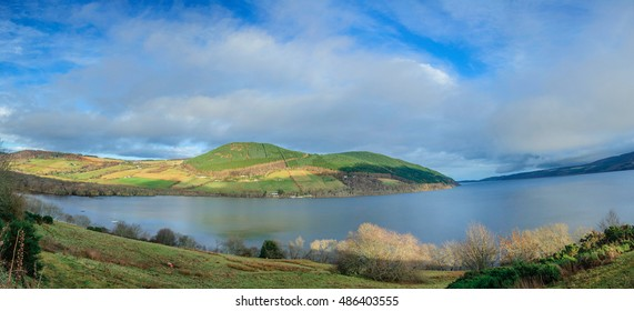 A View of the Lake of Loch Ness in Scotland