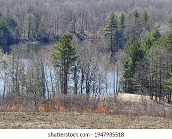 View of Lake Shattuck, New Auburn, Wisconsin
