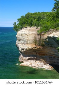 View of Lake Superior from Pictured Rocks National Lakeshore in Michigan