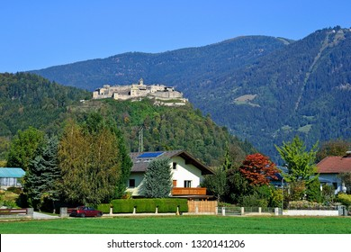 View of Landskron in Austria