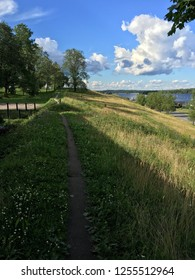 View to Lappeenranta fortress wall.