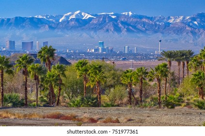 View of Las Vegas in Nevada, USA