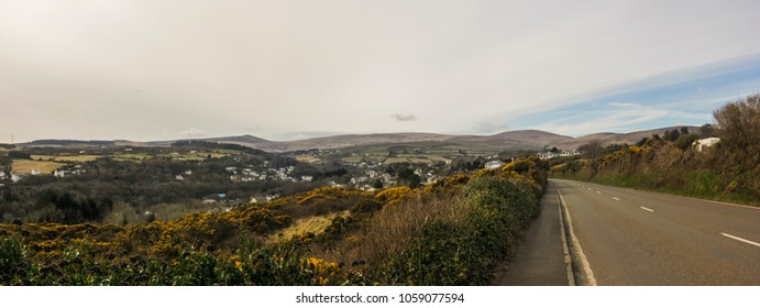 View of Laxey, in Isle of Man