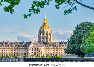 View of Les Invalides, Paris, France - Shutterstock ID 1775978447