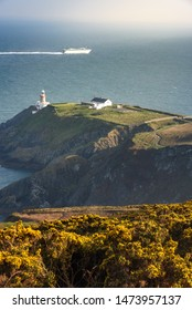View of light house from the Summit near Howath Dublin