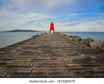 view of a lighthouse in dublin, irelad