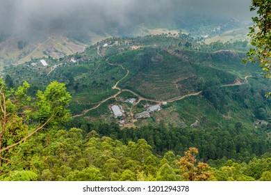 View from Lipton's Seat near Haputale, Sri Lanka