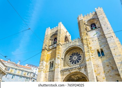 View of the lisbon cathedral