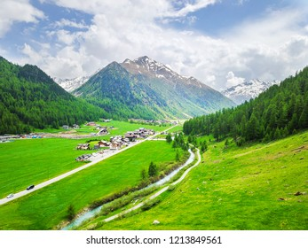 View of the Livigno valley