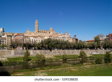 View of Lleida, Catalonia, Spain