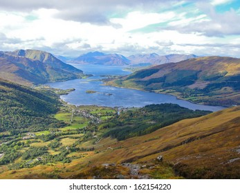 View of Loch Leven from the Pap of Glencoe