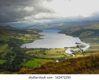 View of Loch Tay (Scotland) from Sron a'Chlachain