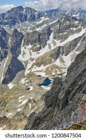 View from Lomnicky Stit in High Tatras, Slovakia - Shutterstock ID 1200847504