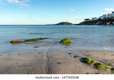 A view from Looe beach in Cornwall.