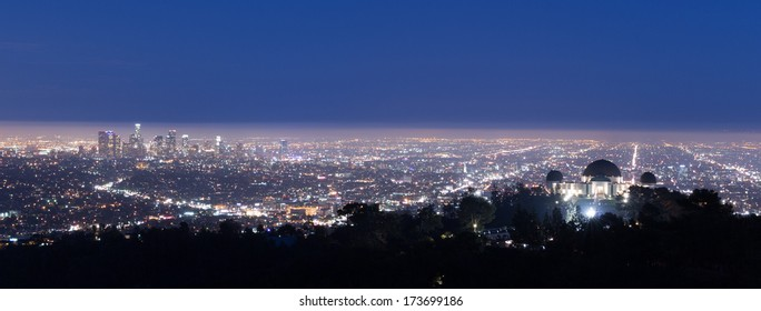 View of Los Angeles from the Hollywood hills