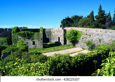 View of the lower level of the fortress Spanjola (Herceg Novi, Montenegro)