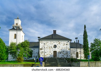 View of the Lutheran Cathedral, in Kuopio, Finland