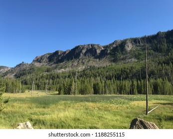 View from Madison Campground at Yellowstone National Park