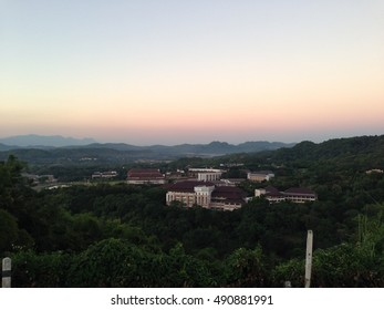 The view of MaeFahLuang university, Chiang Rai, Thailand