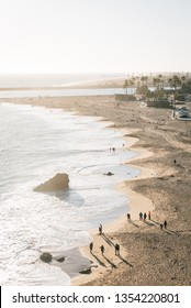 View of the Main Beach in Corona del Mar, Newport Beach, California