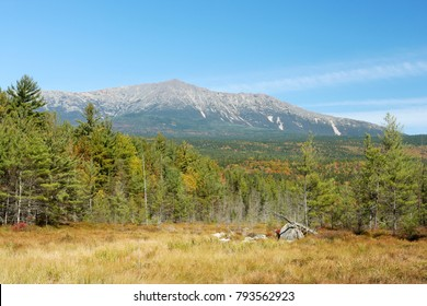 A view of Maine's Mount Katadin. The Highest point in Maine and the northern end of the appalachian trail.