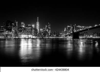 View of Manhattan from Brooklyn.