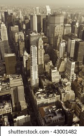view in Manhattan, New York