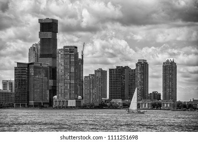 View of Manhattan, New York City, USA