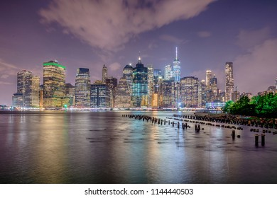 View of Manhattan in New York City, USA
