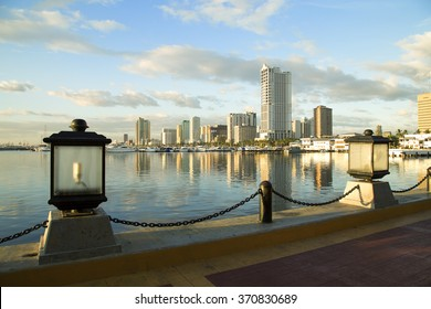 The view to Manila seaside, Philippines