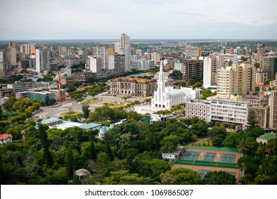 A view of Maputo the capital of Mozambique, Africa