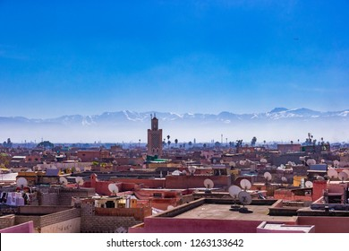 View of Marrakech, Morocco